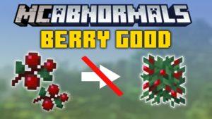Мод Berry Good для Майнкрафт 1.16.1, 1.15.2, 1.14.4