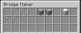 Мод Bridge Maker 1.16.4, 1.15.2, 1.14.4
