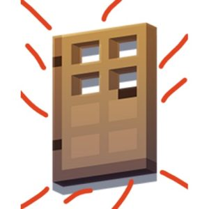 Мод Door Knocker 1.16.4 (стуки в дверь)