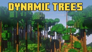 Мод Dynamic Trees 1.12.2, 1.7.10 (реалистичные деревья)