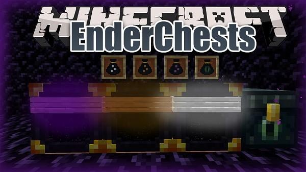 Мод EnderChests 1.16.4, 1.15.2, 1.14.4 (эндер хранилища)