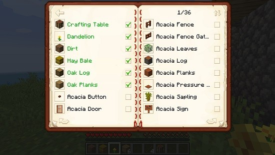Мод Traveler's Index для Майнкрафт 1.16.4, 1.15.2