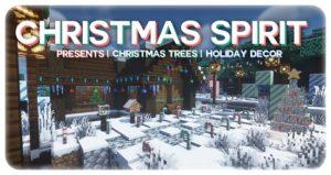 Мод Christmas Spirit 1.16.4 (рождественский декор)