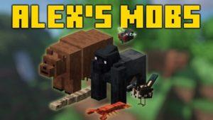 Мод Alex's Mobs 1.16.5 (качественные мобы)