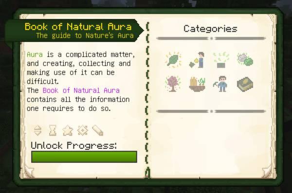 Мод Nature's Aura для майнкрафт 1.16.5, 1.15.2, 1.14.4, 1.12.2