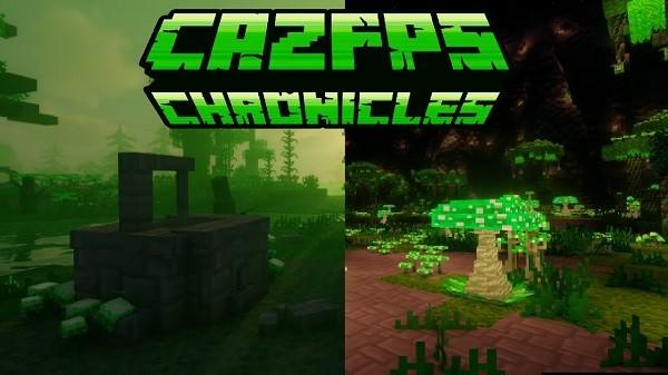 Мод CazFps Chronicles 1.16.4, 1.15.2 (волшебное измерение)