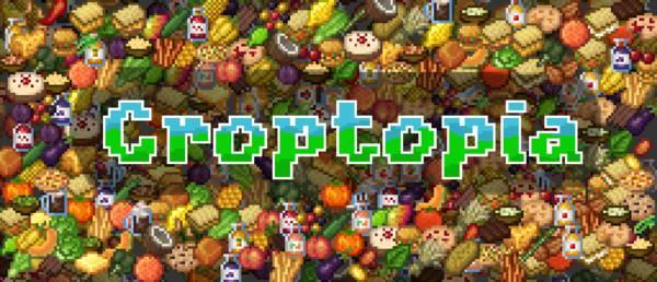 Мод Croptopia 1.16.5, 1.16.4 (новая еда и культуры)