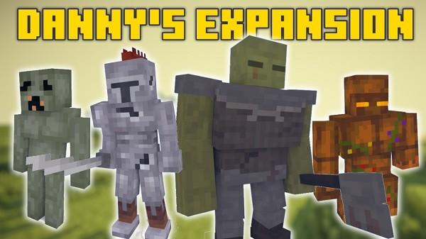 Мод Danny's Expansion 1.16.4 (фантастические мобы)