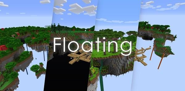Мод Floating 1.16.4 (мир летающих островов)