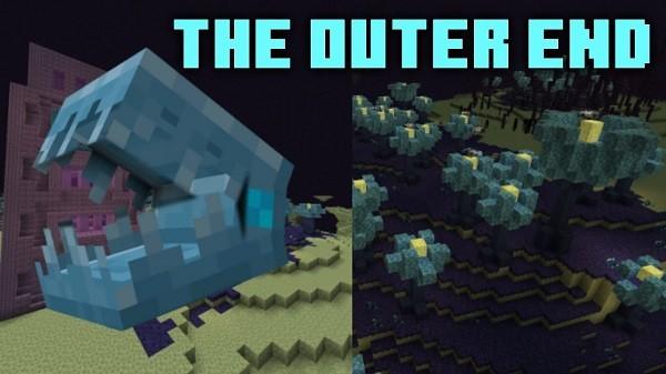 Мод The Outer End 1.16.4 (обновление Края)