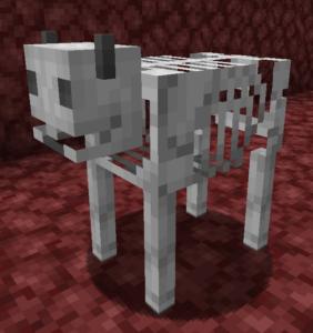 Мод Bones 1.16.4 (костяные мобы в аду)