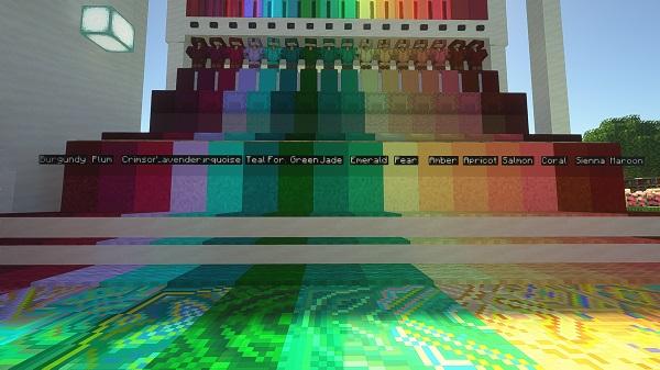 Мод Block Diversity 1.16.5, 1.15.2 (новые цвета и блоки)