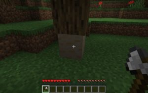 Мод HT's TreeChop 1.16.5, 1.15.2, 1.12.2 (реалистичная срубка дерева)