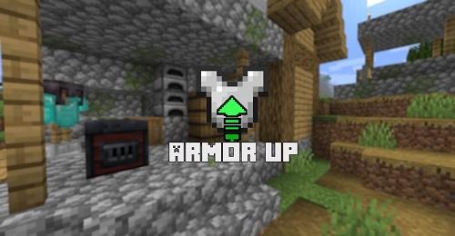 Мод Armor Up 1.16.5 (улучшение брони)