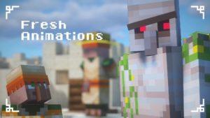 Fresh Animations [16x] 1.16.5, 1.15.2, 1.14.4