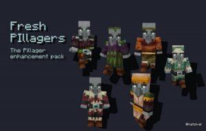 Fresh Pillagers [16x] 1.16.5