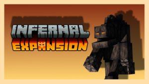 Мод Infernal Expansion 1.16.4 (новые мобы в аду)