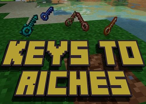 Мод Keys to Riches 1.15.2 (ящики и ключи)