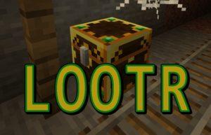 Мод Lootr 1.16.5, 1.15.2, 1.14.4 (уникальный лут для каждого игрока)