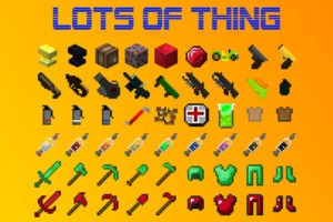 Мод Lots of Things 1.12.2, 1.8.9, 1.7.10 (много новых вещей)