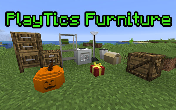 Мод PlayTics Furniture 1.16.4, 1.15.2 (декор и еда)