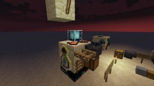 Мод Plonk 1.16.5, 1.15.2, 1.12.2 (размещение предметов на блоках)
