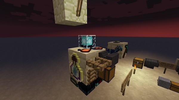 Мод Plonk 1.16.4, 1.15.2, 1.12.2 (размещение предметов на блоках)