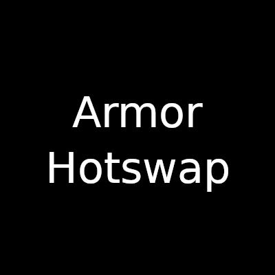 Мод Armor Hotswap 1.16.5, 1.15.2 (быстрая смена брони)