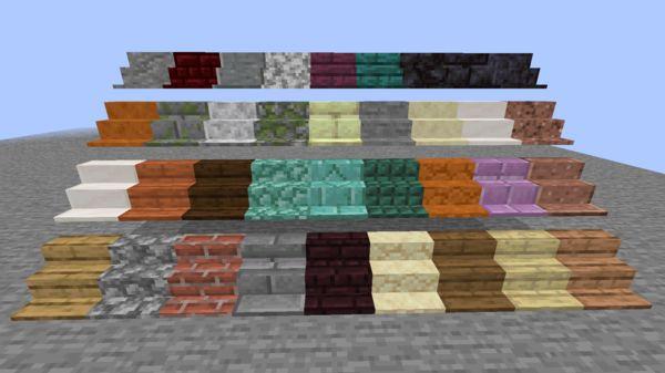 Мод на полки - Shelf для Майнкрафт 1.16.5