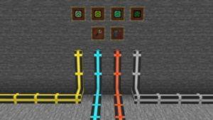 Мод Pipez 1.16.5 (простые трубы)