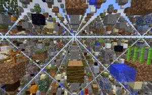 Карта SkyGrid 1.16.5, 1.15.2, 1.12.2, 1.7.10