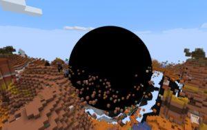 Мод на чёрную дыру - Black Hole 1.16.5