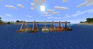 Мод Small Ships для Майнкрафт 1.16.5