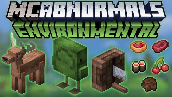 Мод Environmental для Майнкрафт 1.16.5