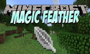Мод Magic Feather 1.16.5, 1.15.2, 1.12.2