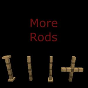 Мод More Rods для Майнкрафт 1.16.5, 1.12.2