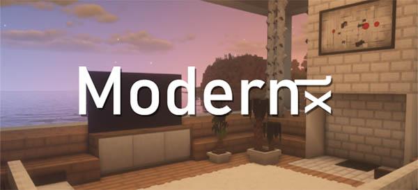 Мод Modernxl 1.16.5, 1.15.2, 1.14.4