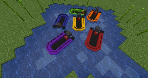 Realistic boats [16x] 1.15.2, 1.14.4, 1.13.2