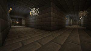 Мод Stoneholm 1.16.5 (подземные деревни)