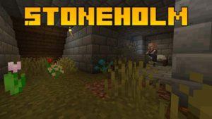 Мод Stoneholm 1.17.1, 1.16.5 (подземные деревни)