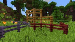 Мод Diagonal Fences 1.16.5, 1.16.4