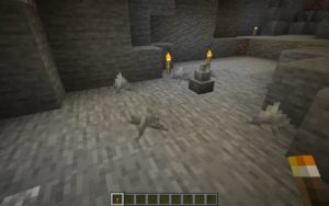 Мод Caves of Cobalt для Майнкрафт 1.15.2