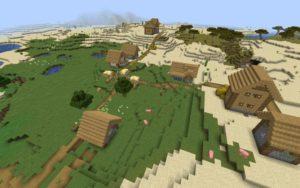 Две деревни и шахта 1.16.5