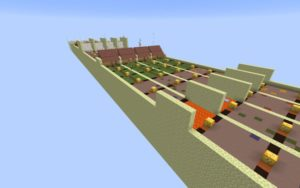 Карта Lucky Block Race by WopAnanas 1.16.5