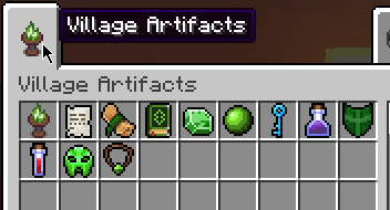 Мод Village Artifacts 1.16.5