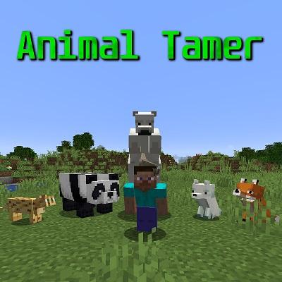 Мод Animal Tamer 1.17.1, 1.16.5, 1.12.2