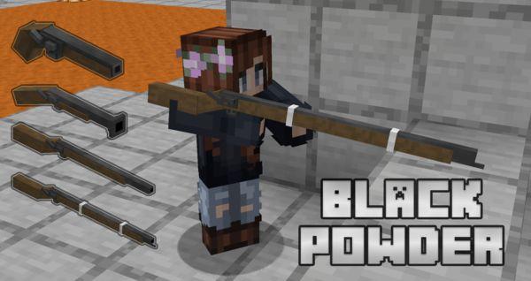 Мод Black Powder 1.16.5 (стреляющие ружья)