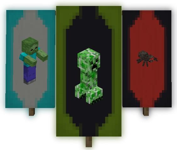 Мод Entity Banners 1.16.5