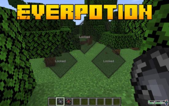 Мод EverPotion 1.16.5, 1.15.2