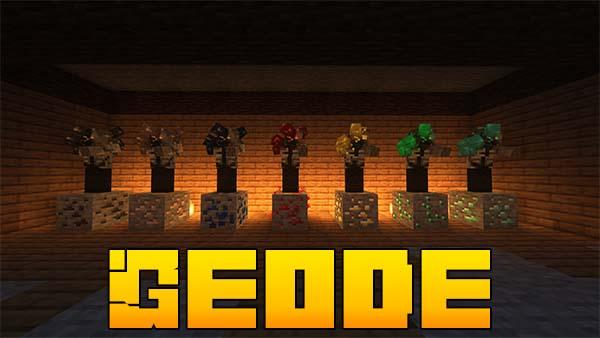 Мод Geode для Майнкрафт 1.16.5